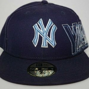 New Era NEW YORK YANKEES Fitted Hat Sz 7 1/4